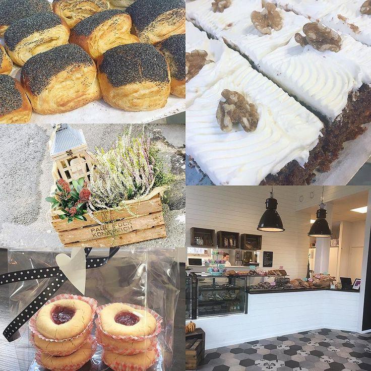 Godmorgon! Ni missar väl inte att vi har även öppet på söndagar mellan 8-14. Idag har vi lite blandat smått och gott. Surdegsfrallor grahamsfrallor köpenhamnare Croissanter. Våran egna müsli bullar morotskaka kokosbrownie och nygräddade hallongrottor. Söndagslyx! Välkomna! #sockermajas #torslanda #söndagsmys #hantverksbageri