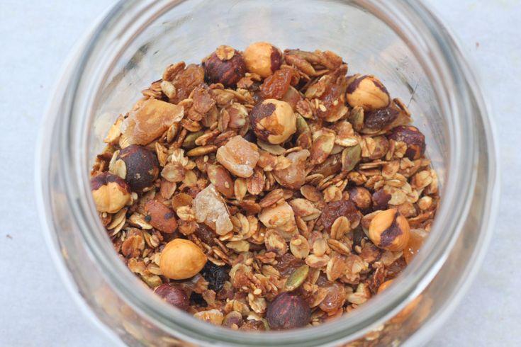 granola fait maison blog chez requia cuisine et confidences