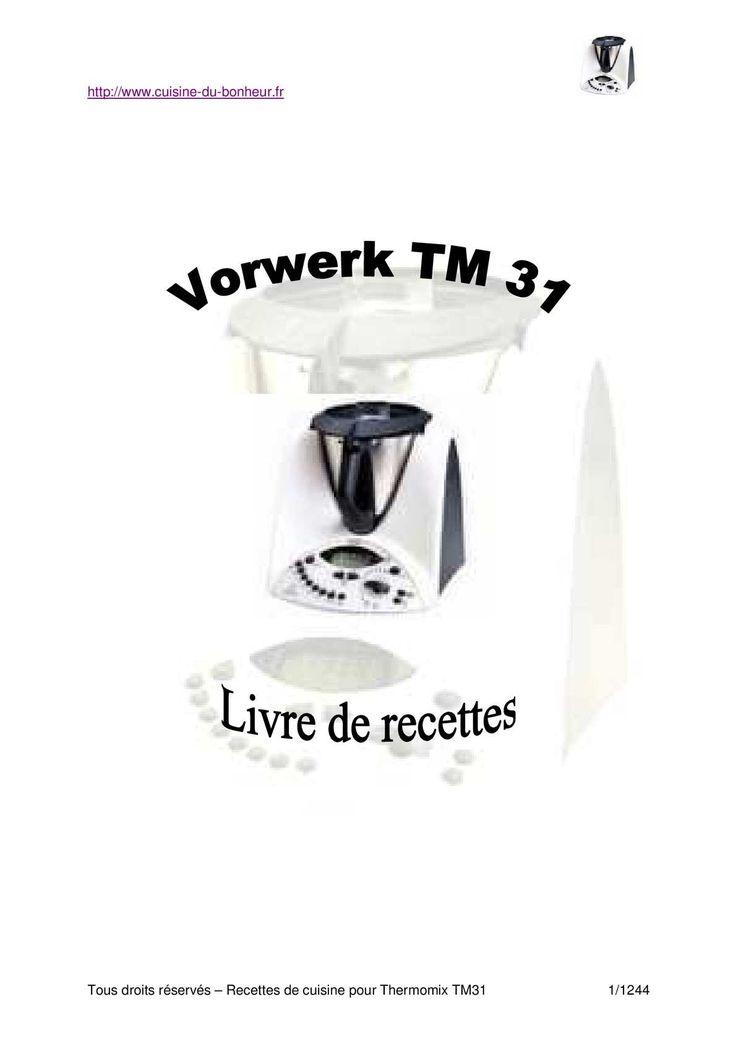 Livre recettes thermomix gratuit - Nouveau livre thermomix 2017 ...