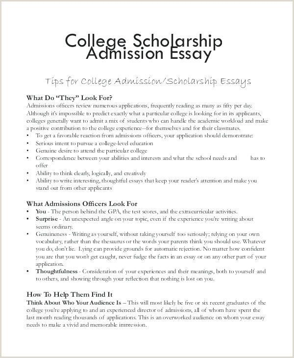 End admissions essay college