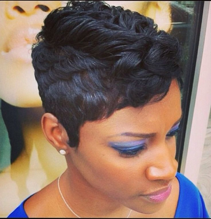 Black Women Short Hairstyles Adorable 109 Best Short Black Hair Images On Pinterest  Short Hair Short