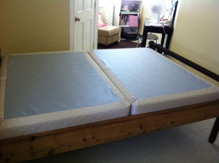 Queen Size Mattress With Split Box Spring