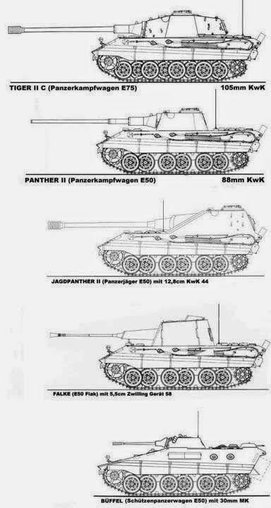German late ww2 tanks