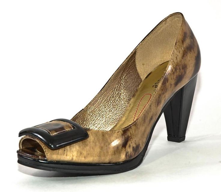 "New!!~MATISSE~""Max"" Patent Leather Leopard Animal Print Peep Toe High Heels, 8 #Matisse #PumpsClassics  $49.99"