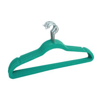 Velvet Slim Hangers 120 pack Turquoise