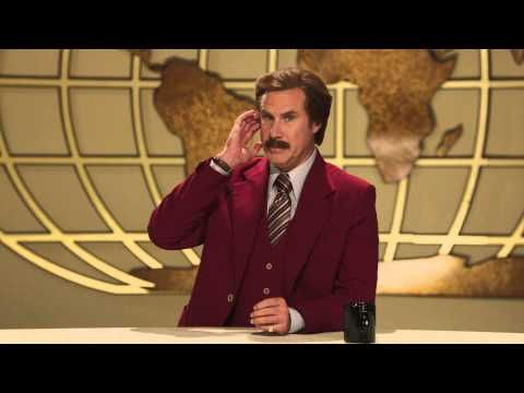 Ron Burgundy on the Late Late Toy Show 2013