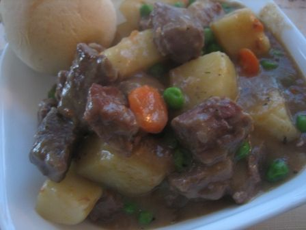 Hearty Beef Stew - I think this looks amazing sadly my husband doesn't like stew but I may need to try it anyway...