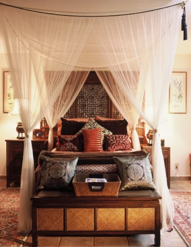 Bedroom Diy Faux Canopy Bed Design, Pictures, Remodel, Decor and Ideas - page 6. I'm in love!