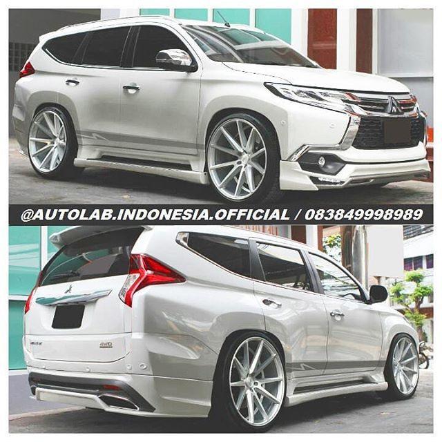 Bodykit Plastic Good Quality Autolab Indonesia Official Foto Dan Video Instagram Mitsubishi Pajero Sport Mitsubishi Suv Stanced Cars