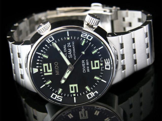 Mido all dial diver auto - Uhren kaufen und verkaufen auf TrustedWatch - TrustedWatch