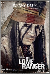 Walt Disney Studios Releases 6 New Character Posters for the upcoming film, The Lone Ranger.
