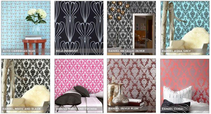 39 best images about liz room ideas on pinterest side - Easy peel off wallpaper ...