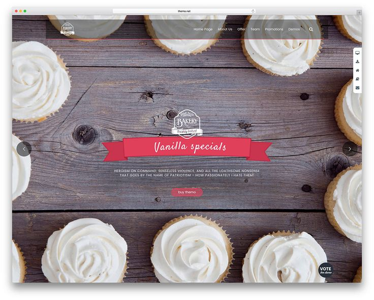 20+ Best WordPress Themes for Bakeries & Coffee Shops 2017 - Colorlib