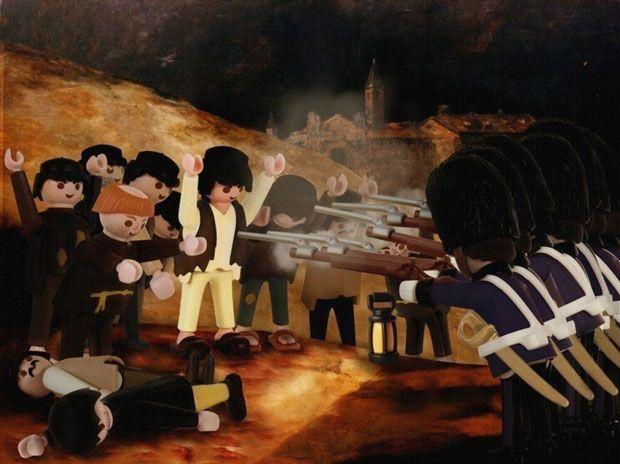 Le tableau « Tres de Mayo », de Francisco de Goya
