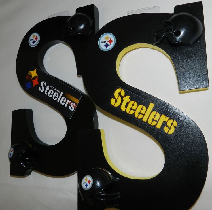 """NFL 9"""" Letters are a great way to decorate a man cave, kids room or entertainment room! They make a great gift for the sports enthusiast in your family."""