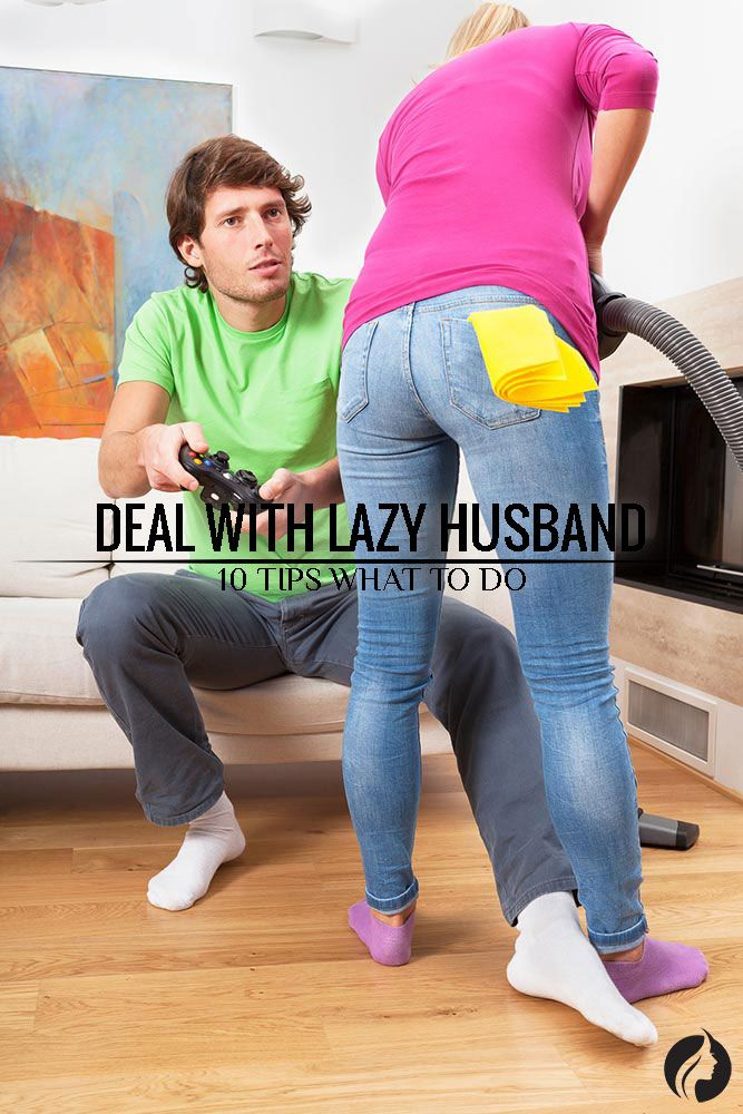 How to deal with a lazy spouse