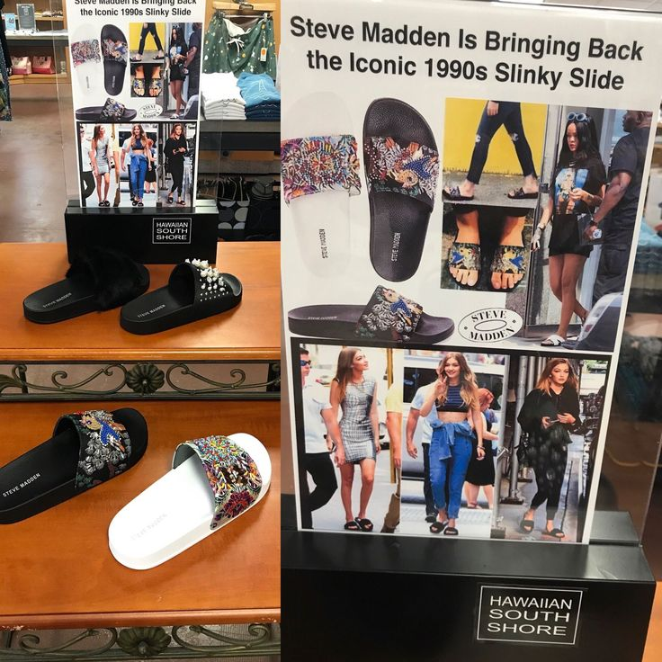2f1cc0030b2a Steve Madden is bringing back the iconic 1990s Slinky Slide! Get a pair at  Hawaiian South Shore! . . . . . .  stevemadden  …