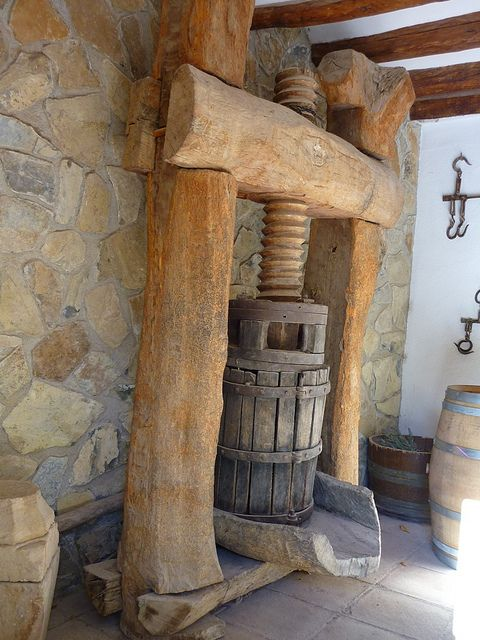 *Wine Press - Now that i have used one, the winemaking process means so much more to me!