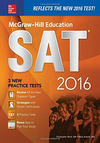McGraw-Hill Education SAT 2016 Edition (- 71843442 - http://lowpricebooks.co/2016/03/mcgraw-hill-education-sat-2016-edition-71843442/