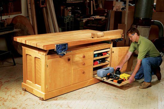 Dream Workbench - The Woodworker's Shop - American Woodworker