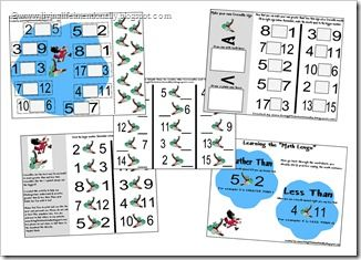 Crocodiles eat the Biggest math worksheets for elementary from Living Life Intentionally