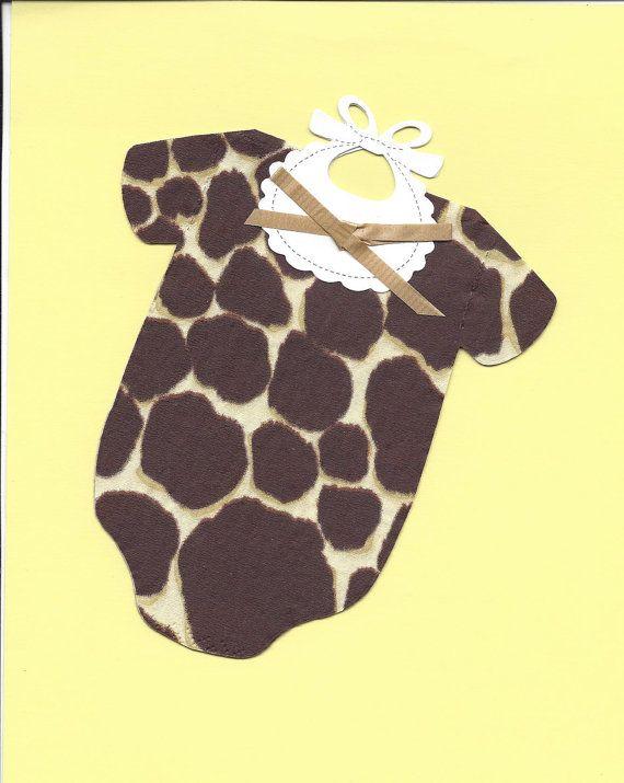 Set of 30 Napkins  Giraffe Safari Jungle Baby by SuriesBoutique, $15.00