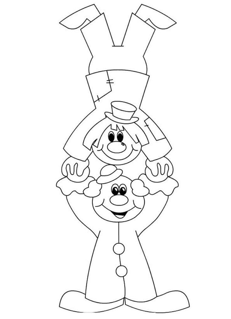 Clown Wollbilder Carnevale Scuola Attivita 15