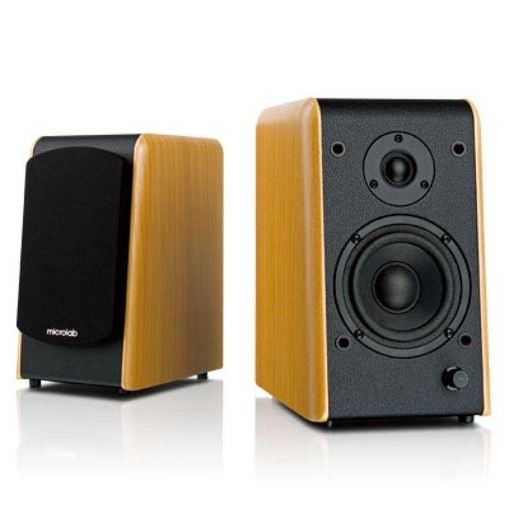 Microlab B77, Bookshelf Stereo Speaker System