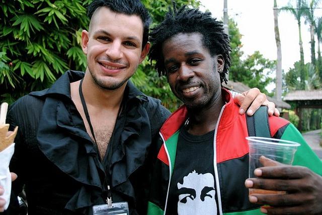 Tah Riq Amawi & Kamau Abayomi by TEDxUbud, via Flickr