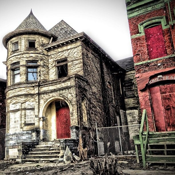 17 Best Images About Detroit- A City Abandoned On