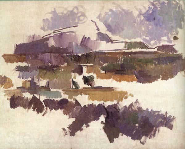 Paul Cezanne : Mont St Victoire