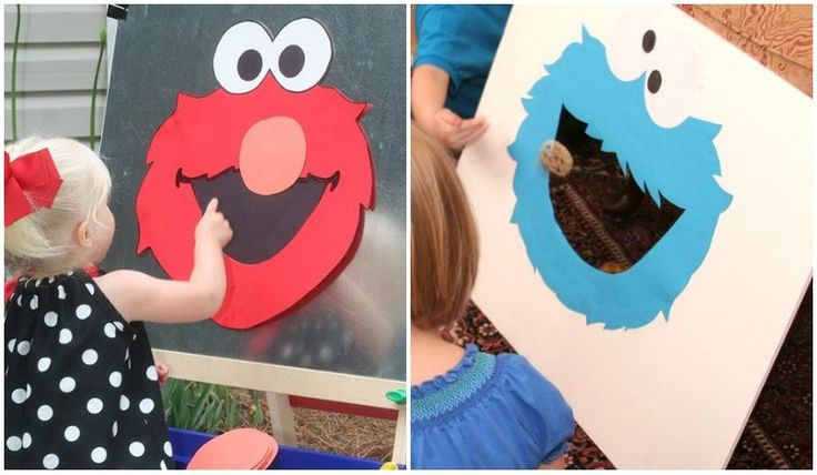 Juegos para cumpleanos infantil de barrio sesamo