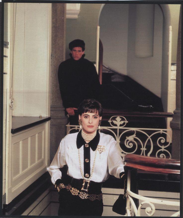 17 best images about the models ines de la fressange on pinterest parisians chanel boutique. Black Bedroom Furniture Sets. Home Design Ideas