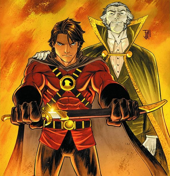 Ra's al Ghul: Tim Drake and Ra's al Ghul