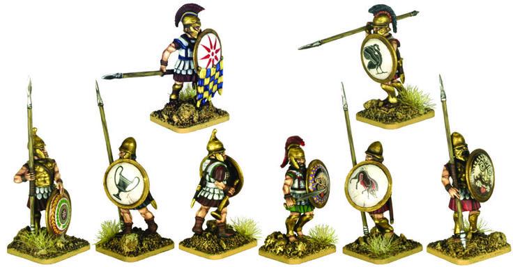 Mercenary Armoured Hoplites 5th to 3rd Century BCE