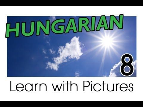 Learn Hungarian Vocabulary with Pictures - Weather Forecast Says...