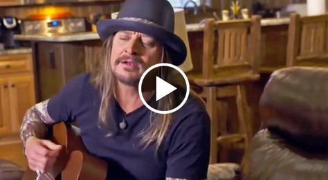 Acoustic guitar in hand, Kid Rock opened his mouth and ended up delivering one of the most touching performances we've ever seen from him...