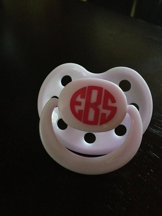 Set of 2 Custom 1 Monogram decals Perfect for by LULUandBMonograms, $2.50 @Sam Taylor Sellers how cute are these!