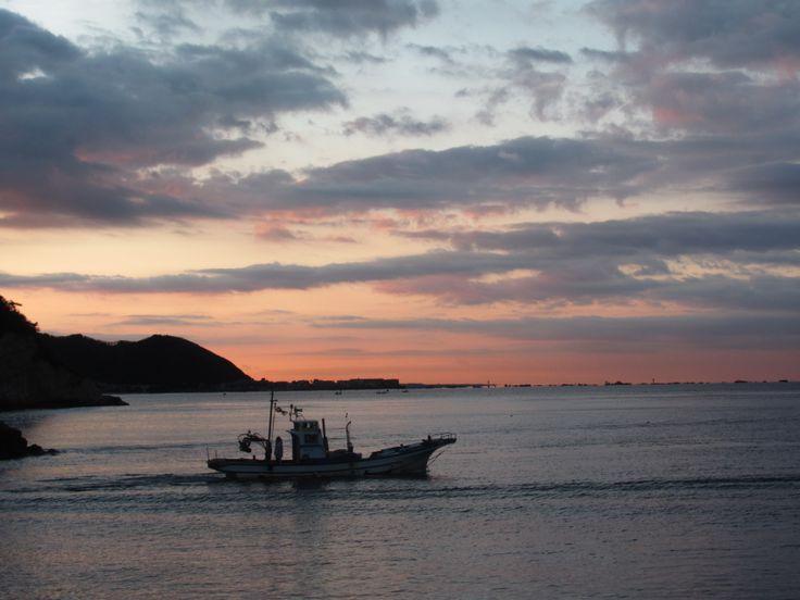 Zushi, Kotsubo port, in a morning.
