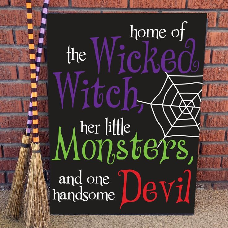 Home of The Wicked Witch, her little Monsters and one handsome Devil