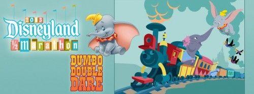 Inaugural Dumbo Double Dare Challenge | Disneyland Half Marathon | Running at Disney #runDisney #DisneylandHalf #DumboDoubleDare #DDD