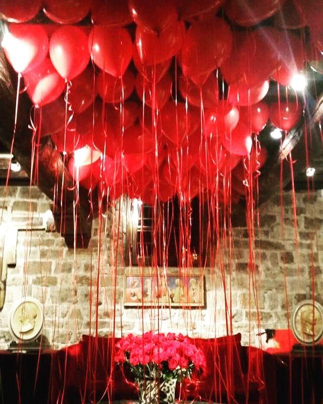 Rosso passione by Balloonexpresshop Firenze Via Lanza
