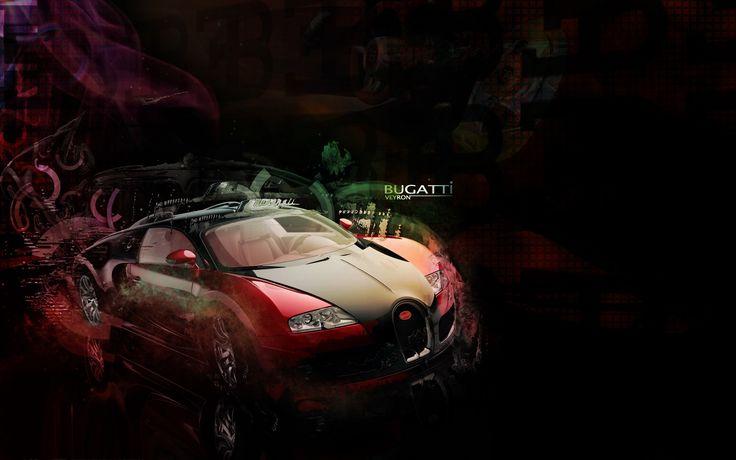 Bugatti-Veyron-Supercar-Red-HD-Wallpaper