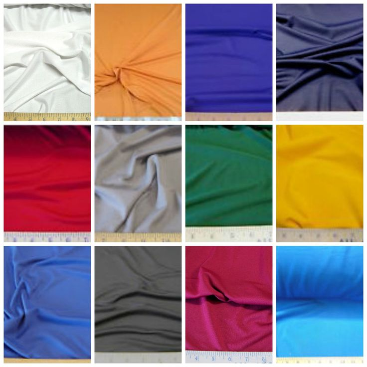Discount Fabric 4 way Stretch Polyester Lycra Spandex Choose your Color  #PaylessFabric