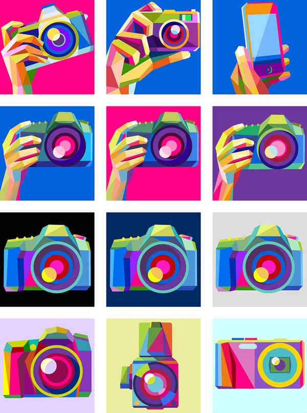 Avatars for The New Flickr by Charis Tsevis, via Behance