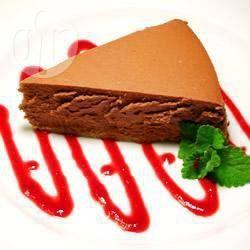 Chocolademousse-cheesecake uit de snelkookpan @ allrecipes.nl