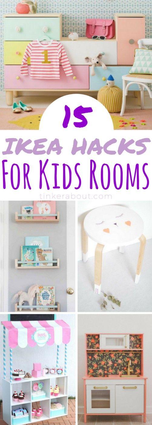 15 jolis hack Ikea pour les enfants pour améliorer la chambre de votre enfant   – For the Home
