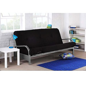 how to make a futon look nice