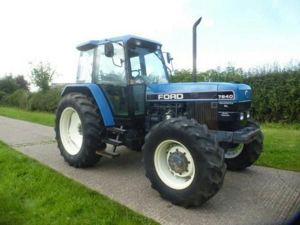 Ford 7840 Tractor Tractors Ford Tractors Ford Tractors For Sale