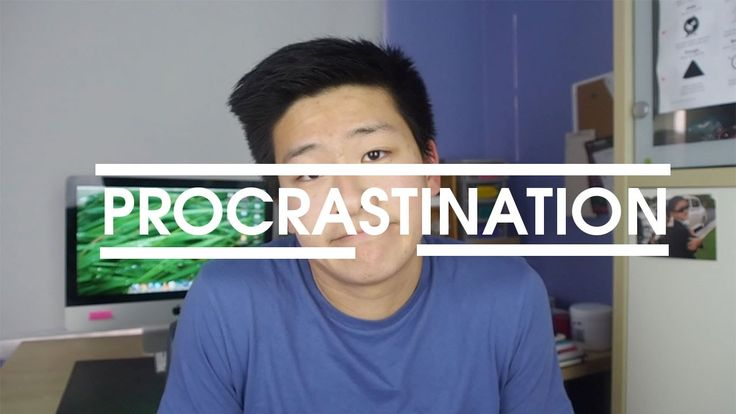 Procrastination is inevitable. What excuse do you guys find for procrastinating?